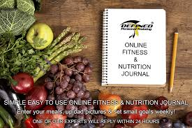 Fitness And Nutrition Journal Online Nutrition Journal Defined Personal Training Pro