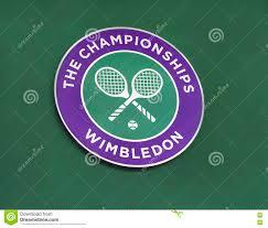 L'emblema Del Torneo Di Wimbledon Fotografia Stock Editoriale - Immagine di  sport, chiamata: 73455053