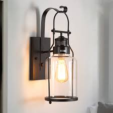 diy lighting. Modern Wall Lamp Glass Cover Light DIY Lighting Cafe Art Home Exterior Lanterns Vintage Outdoor Lighting-in Lamps From Lights \u0026 On Diy