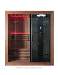 Full Size of Shower:bathroom Vivaciousalk In Steam Showerith Blackall Panel  And Dry Sauna Combo ...