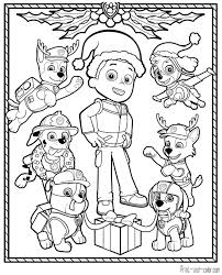 Coloring Pages Paw Patrol Print And Color Com