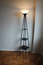 floor lamp with shelves tall