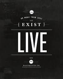Just Live Life Quotes Cool Do More Than Just Exist Live Life Quote Daily Quotes