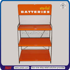 Car Battery Display Stands