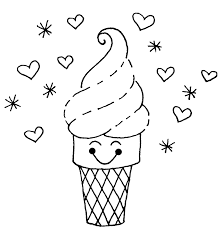 Small Picture New Ice Cream Coloring Page 60 With Additional Coloring Print with
