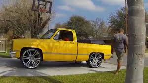 1985 Chevy C10 on 26's | c10's (2wd) | Pinterest