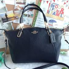 ping coach f34493 pebble leather small kelsey satchel midnight cocalo f51d6 01c6a