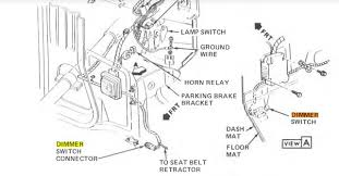 high beam switch in turn signal lever the 1947 present i m in the process of ing the 84 service manual be it ll be more related to my wiring diagrams i wish i could look at the build placard on