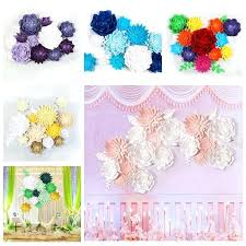 diy stage backdrop paper flower backdrop wall giant flowers wedding party stage decor creative wedding diy diy stage backdrop