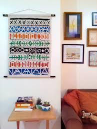 diy aztec wall art