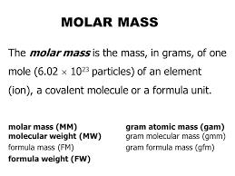 Molar Mass Formula Magdalene Project Org