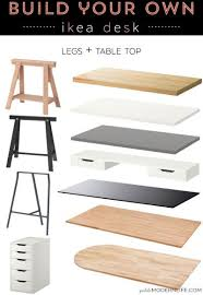 office desk table tops. build your own ikea desk office table tops