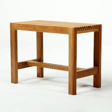 unpolished teak wood shower bench with h stretcher fascinating teak wood shower bench bring cute