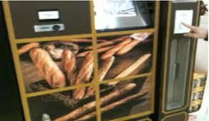 Bakery Vending Machine Best Fresh Baked Bread Vending Machine Hacked Gadgets DIY Tech Blog