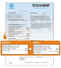 Bill Template How To Read Electricity Bill Green Mountain Energy