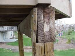 Post And Beam Deck Design Deck Beams And Posts Deck Design And Ideas
