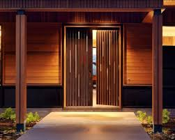 glamorous brown house entrance door woyj black and wall also