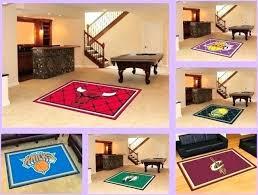 licensed area rug floor mat carpet flooring man cave choose basketball court fun rugs kids time