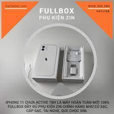 iPhone 11 128GB Quốc Tế Mới FullBox Chưa Active - Trôi Bảo Hành