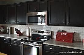 stone kitchen backsplash dark cabinets. Brilliant Dark Interior Backsplash For Black Cabinets Contemporary Kitchen Ideas Dark  Joanne Russo HomesJoanne Regarding 15 From Stone L