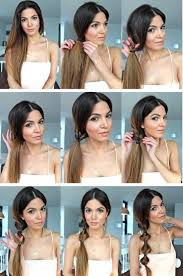 Simple Hairstyle For Long Hair 15 simple hairstyle ideas ready for less than 2 minutes and looks 8861 by stevesalt.us