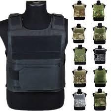 2019 US <b>Army Military Tactical</b> Vest Anti Stab Hard Self-Defense ...