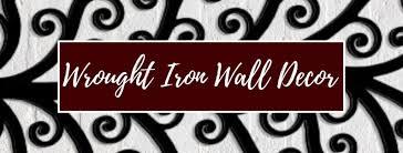 wrought iron wall decor wall art