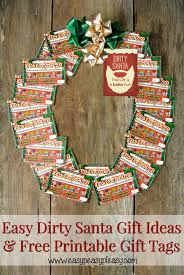 dirty santa lottery tickets the perfect gift easy peasy pleasy the perfect 20 dirty santa gift idea printable gift tags many more fun