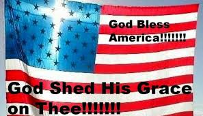 Happy Birthday America God Shed His Grace on thee