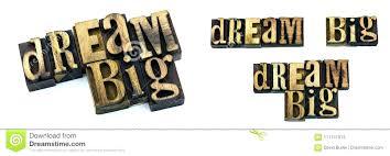 big wooden letters big block letters wood dream big letters letterpress stock image image of