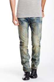 Cult Of Individuality Size Chart Greaser Slim Straight Leg Jean