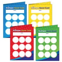 House Colour Stamper Saver Cards 32 Cards A6
