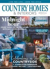 country homes and interiors. Country Homes \u0026 Interiors - January 2018 And E