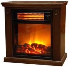 Infrared Tabletop Space Heater Flame Effect Mini Electric Infrared Fireplace Heater