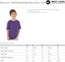 Next Level Youth Raglan Size Chart Kids Tennessean On A Light Pink T Shirt