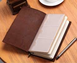 genuine leather journal travel notebook brown refillable classical vintage gifts 12 12 of 12 see more