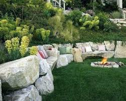 interior rock landscaping ideas. Slope Landscaping Ideas Steep Garden Design Rock  To Create A Natural And Organic Landscape Hillside Home Interior Rock Landscaping Ideas
