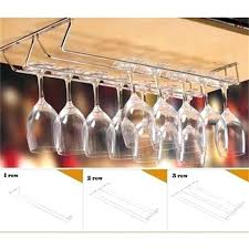 under cabinet wine glass rack wine cup wine glass holder hanging drinking glasses stemware rack under