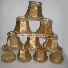 10 Lampenschirme Für Kronleuchter Oder Wandlampen Klemmschirme