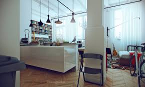 Studio Apartment Design Ideas Beautiful Studio Apartment Kitchen - Vintage studio apartment design