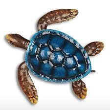 tooarts sea turtle wall art metal wall