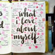 love about myself 25 bullet journal ideas bullet journals bullet journal wish list