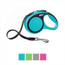 <b>Flexi New Comfort</b> Retractable <b>Tape</b> Dog Leash, Blue, Small, 16-ft ...