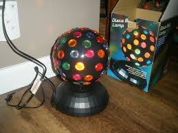 Spinning Colored Light Ball