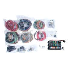 10123 mustang painless wiring harness ford universal 14 circuit american autowire highway 22 complete wiring kit universal