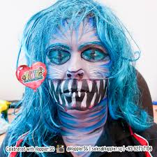 face paint makeup artist