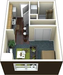 26 best 400 sq ft floorplan images on Pinterest | Apartment floor plans,  Small houses and Guest houses