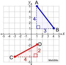 Distance Formula Mathbitsnotebook Geo Ccss Math