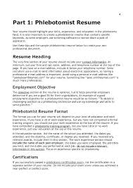 What Is The Objective Section On A Resume Resume Objective Section 67