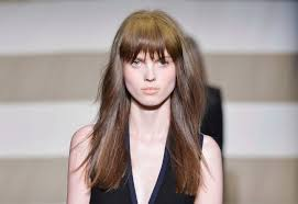 Square Face Bangs Hairstyle The Most Flattering Hairstyles For A Square Face